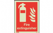 6490D/R - FIRE EXTINGUISHER LOCATION SIGN 200 X 150mm